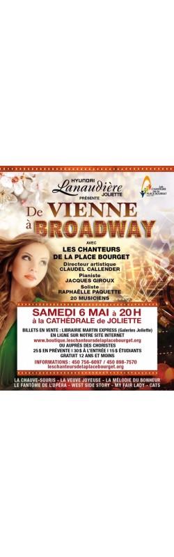 """Concert """"De Vienne à Broadway - Adulte"""