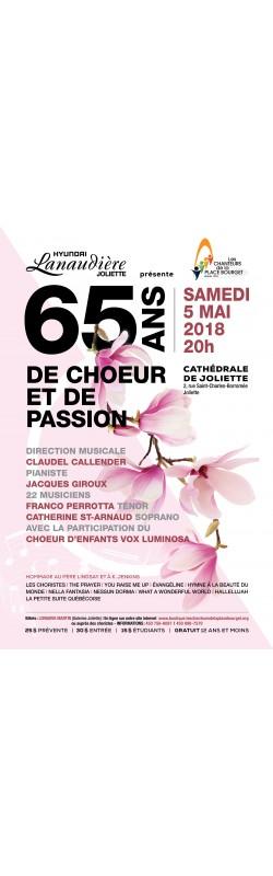 """Concert """"65 ans de choeur et de passion"""